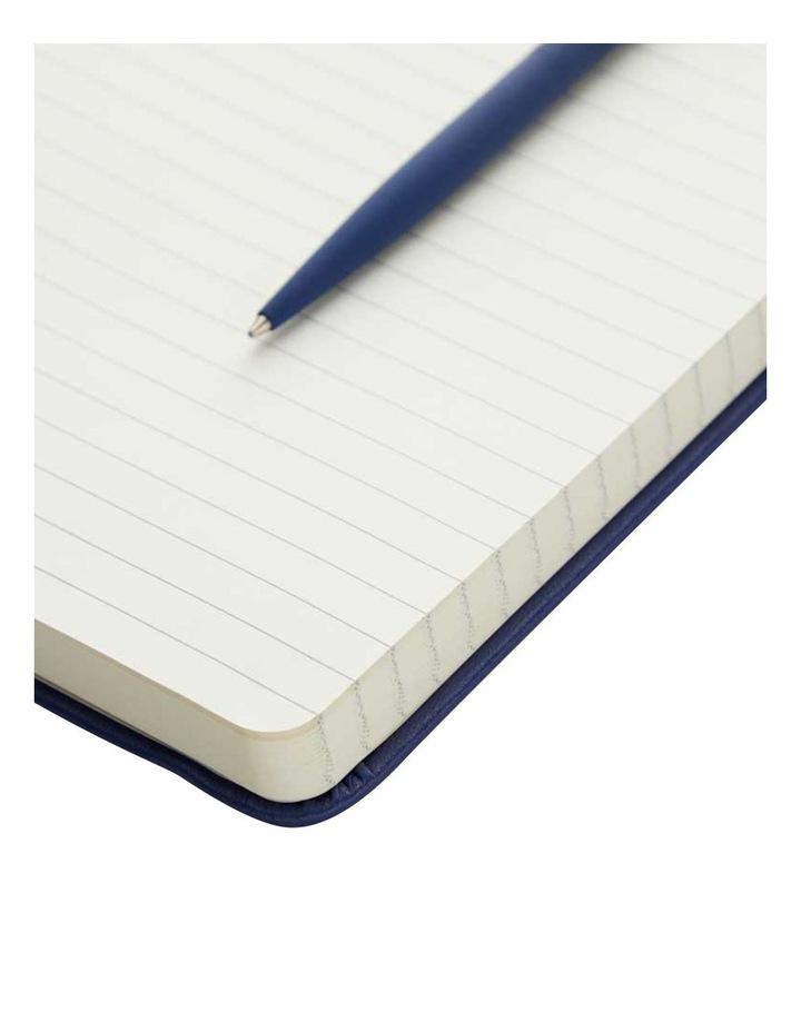 Hard Notebook L Ruled Agenzio Navy image 2