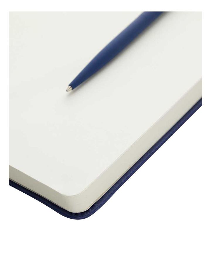 Hard Notebook L Plain Agenzio Navy image 2