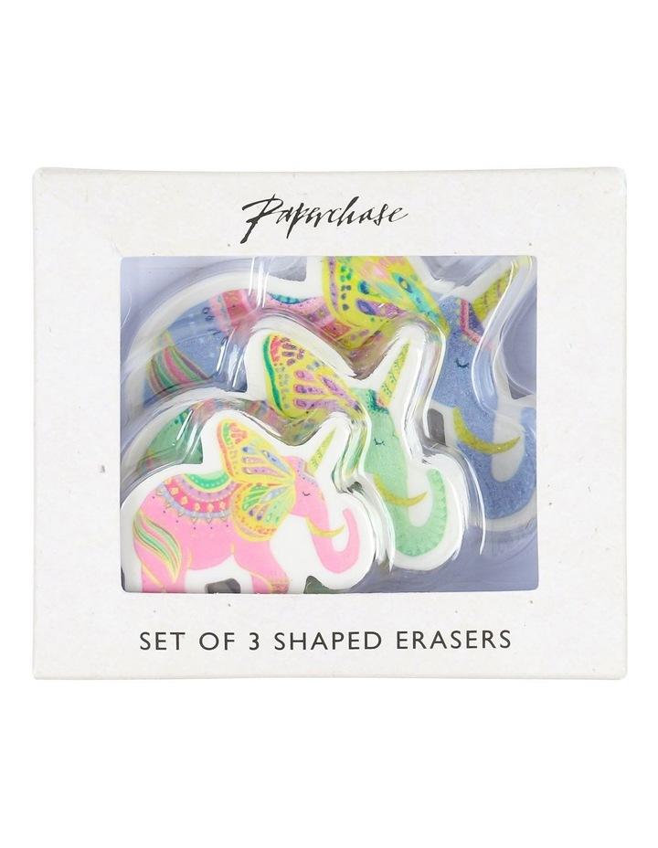 Bohemian Journey Elephant Eraser - Pack Of 3 image 1