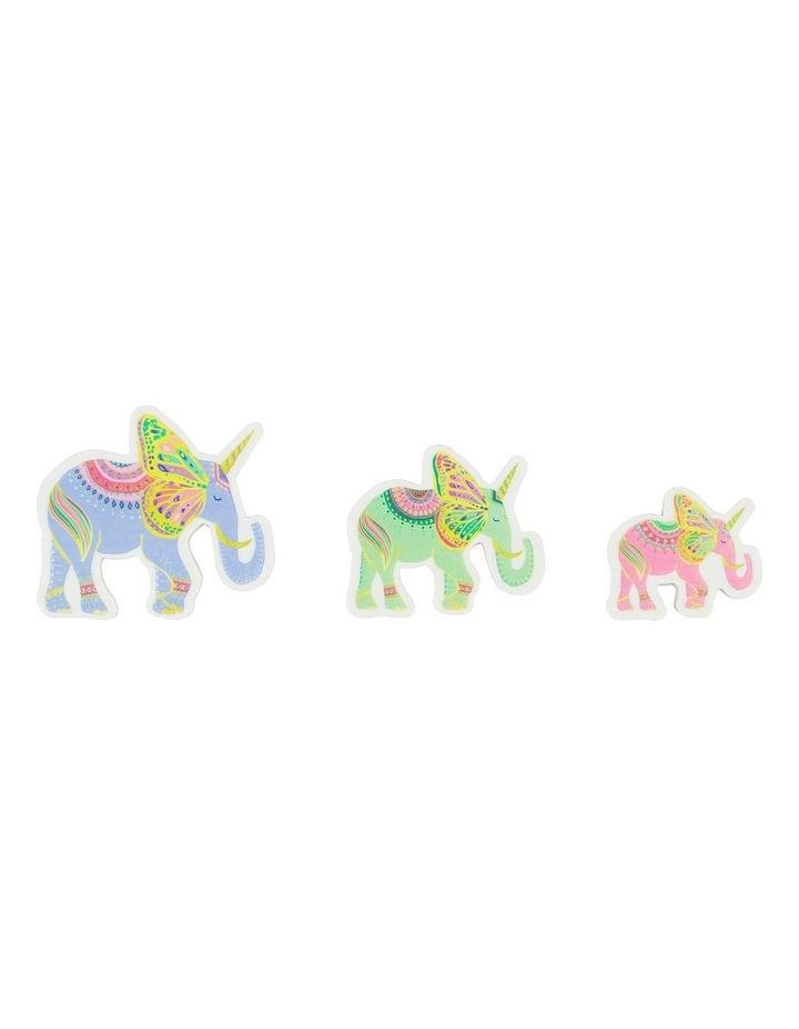 Bohemian Journey Elephant Eraser - Pack Of 3 image 2