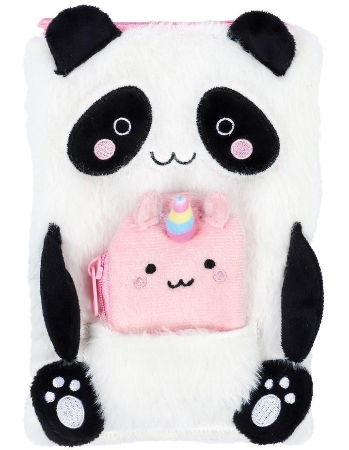 Fluffy Panda Plush Case image 1