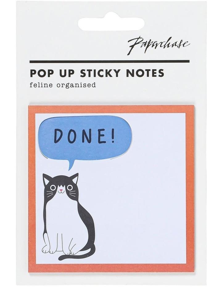 Cat Done Pop Up Sticky Notes image 1