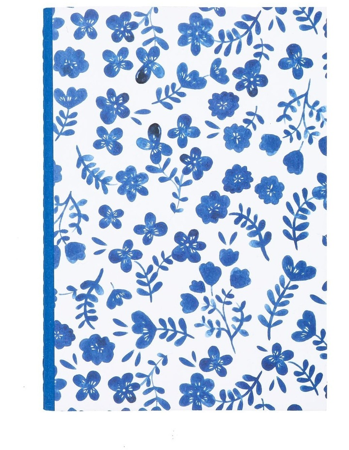 Hana A5 Floral Fabric Notebook image 1