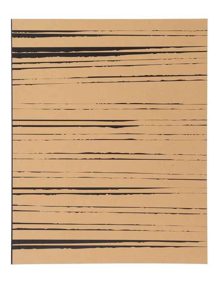 Kraft Black Strokes Notebook image 1