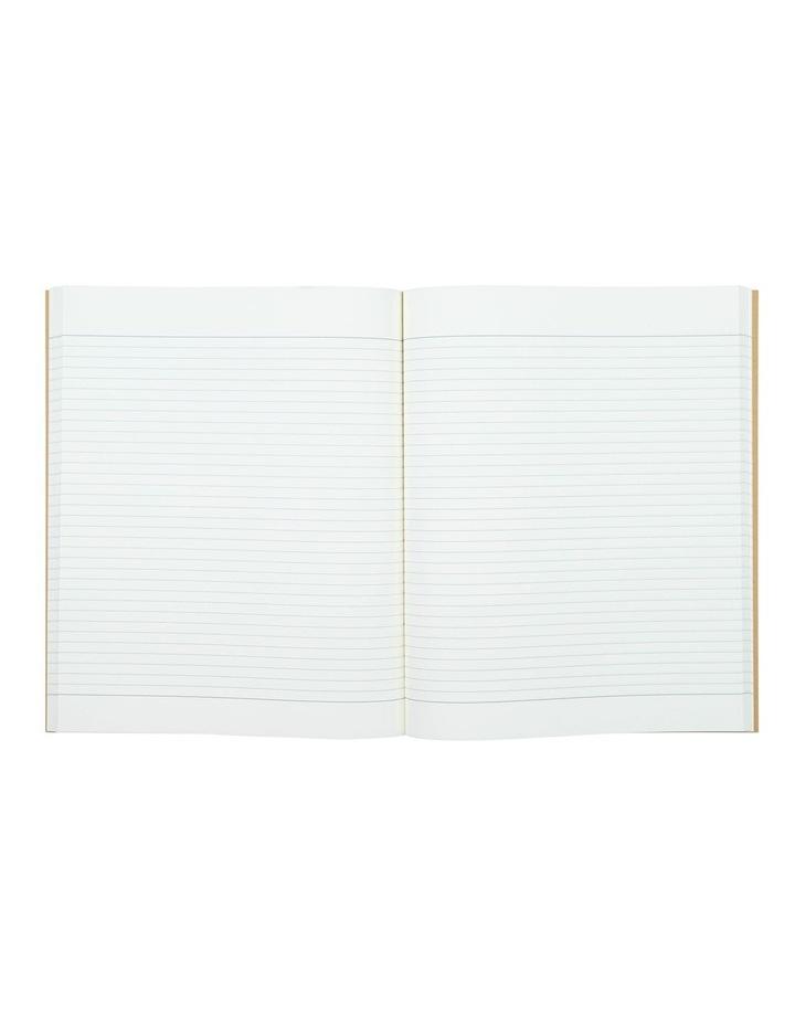 Kraft Black Strokes Notebook image 2