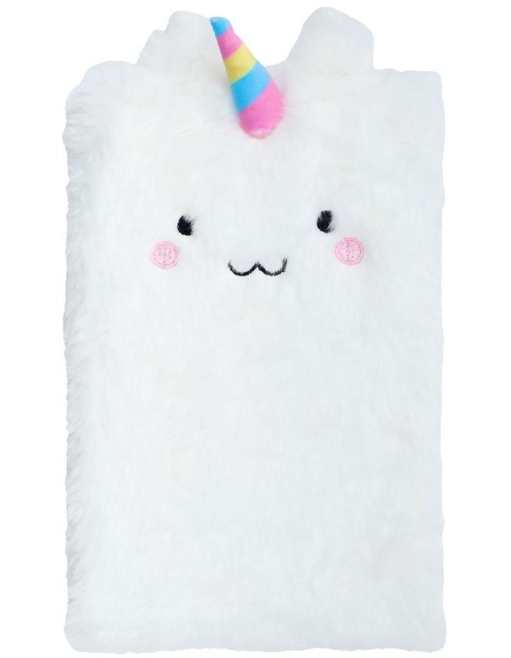 A5 Fluffy Unicorn Notebook image 1