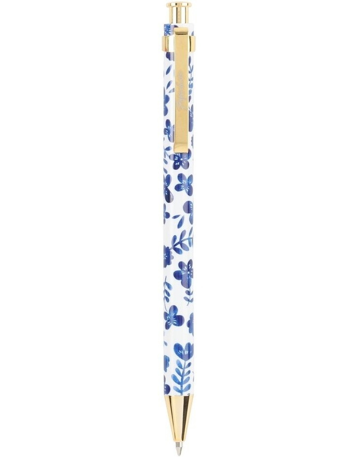 Pen Mechanical Hn Blue Floral image 1