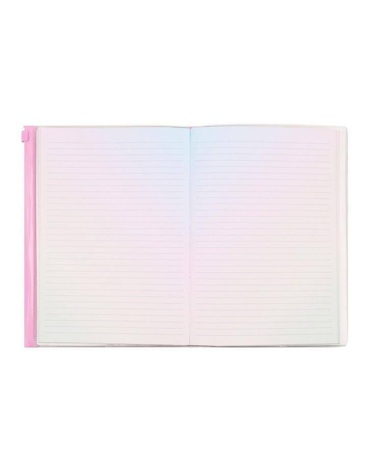 Glitter Filled Zip Lock Notebook image 2