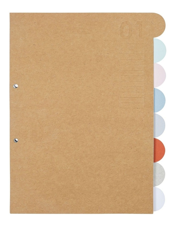 Order & Purpose File Dividers With Tabs image 1