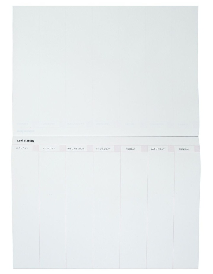 Order & Purpose Weekly Planner Desk Pad image 2