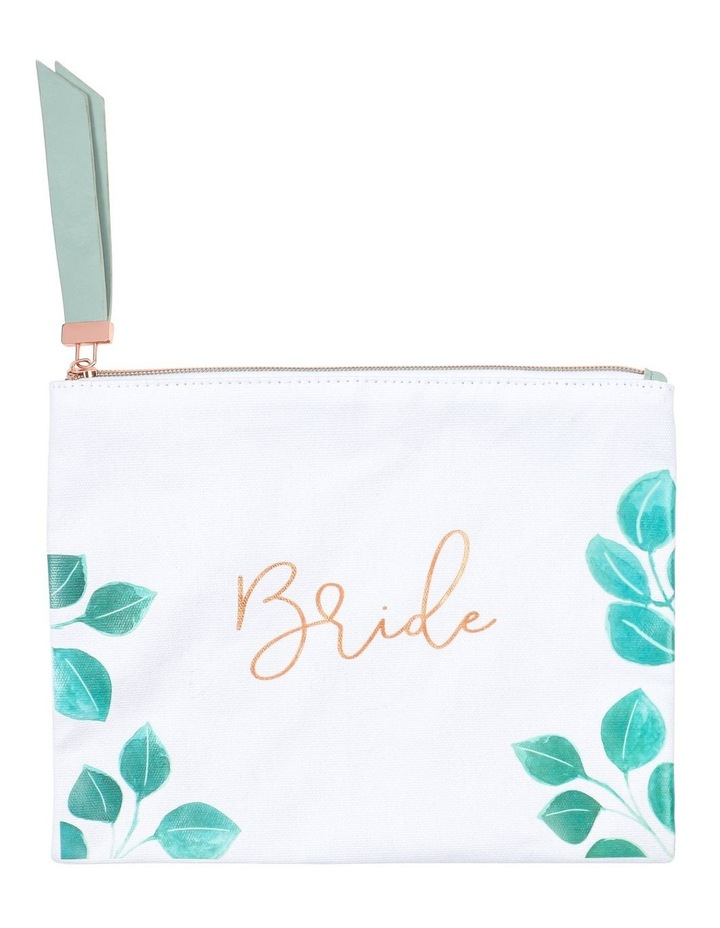 Wedding Bride Cosmetic Bag image 1