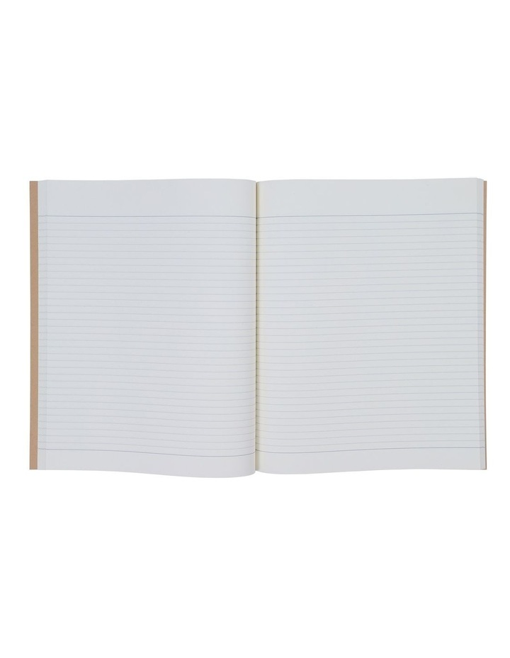8x10 Kraft Black Lines Notebook image 2