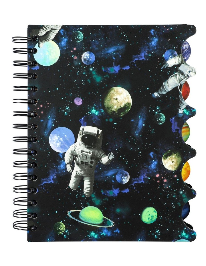 Paperchase Space A5 Subject Notebook image 1