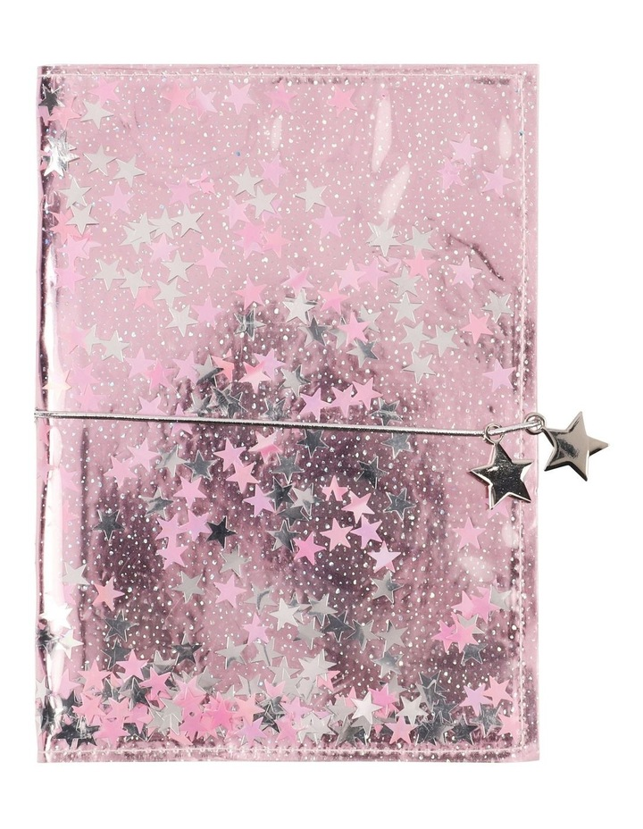 A5 Glitter Filled Notebook image 1
