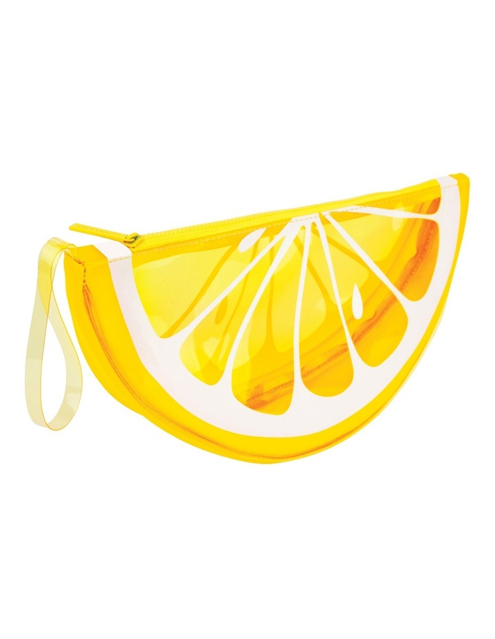 Lemon See Through Clutch image 1