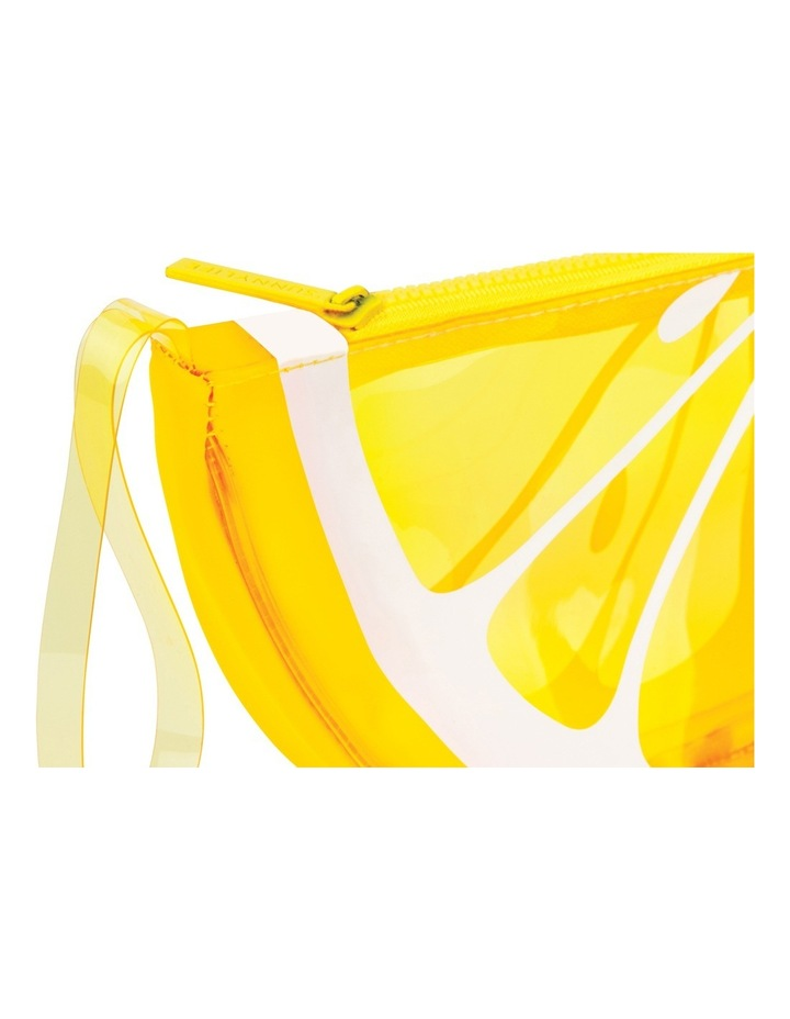 Lemon See Through Clutch image 2