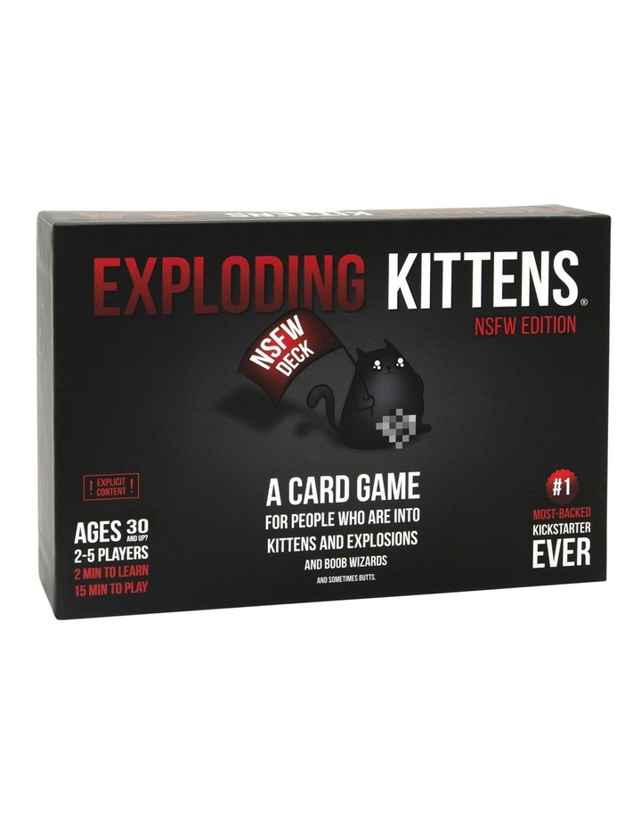 Exploding Kittens NSFW Edition image 1