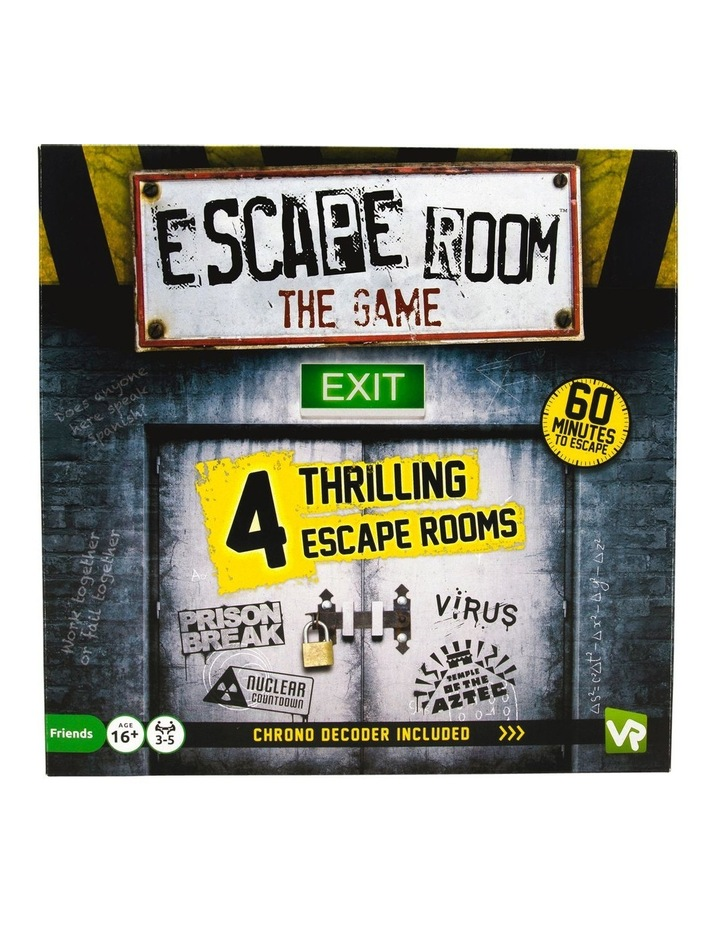 Escape Room the Game - 4 Rooms Plus Chrono Decoder image 1