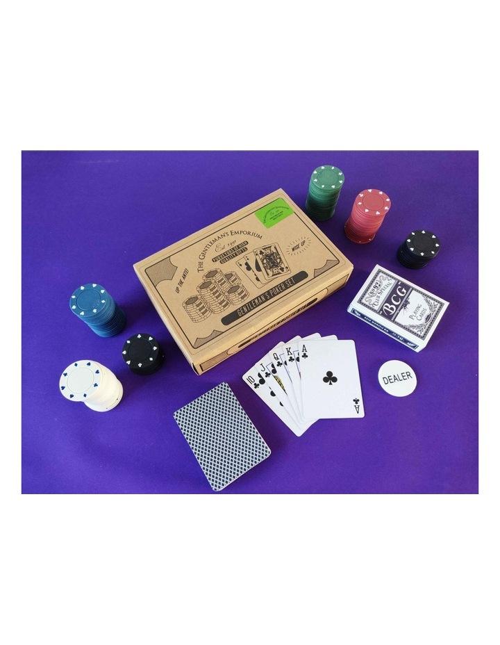100 Chip Poker Set image 3