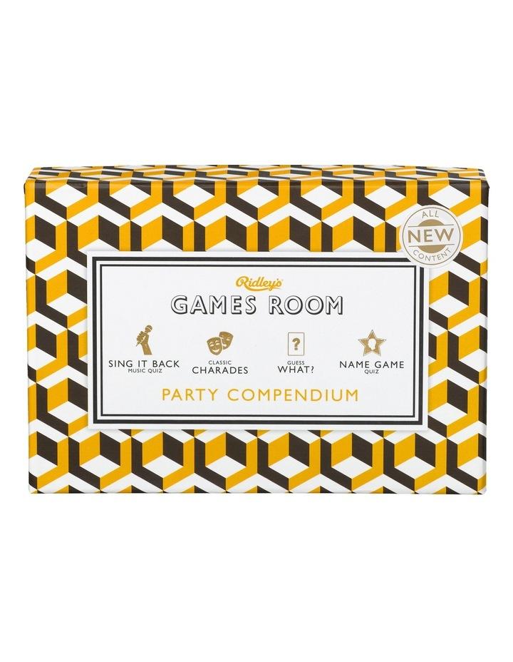 Games Room Party Compendium image 2