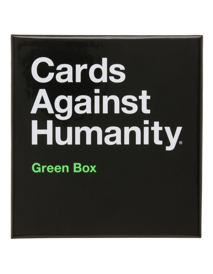 Cards Against Humanity Green Box Expansion Pack image 1