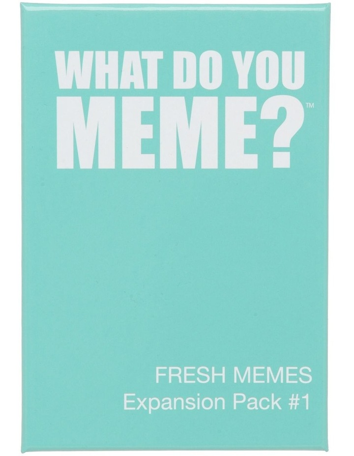 What Do You Meme? Fresh Memes Expansion Pack 1 image 1