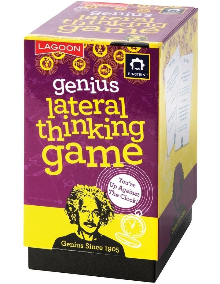 Einstein Genius Lateral Thinking Game image 1