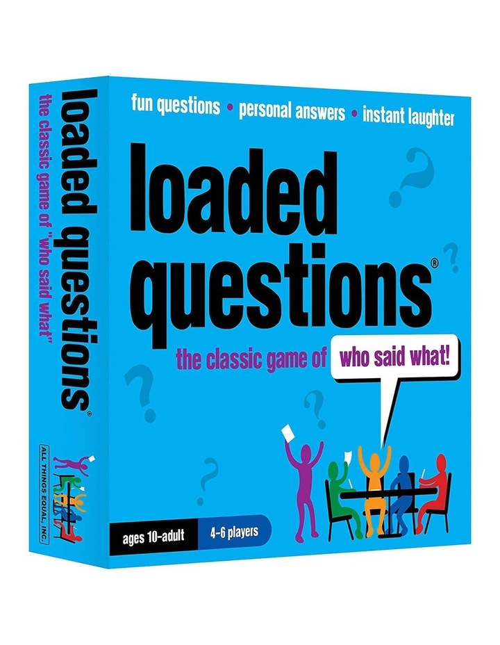 Loaded Questions the Game image 1
