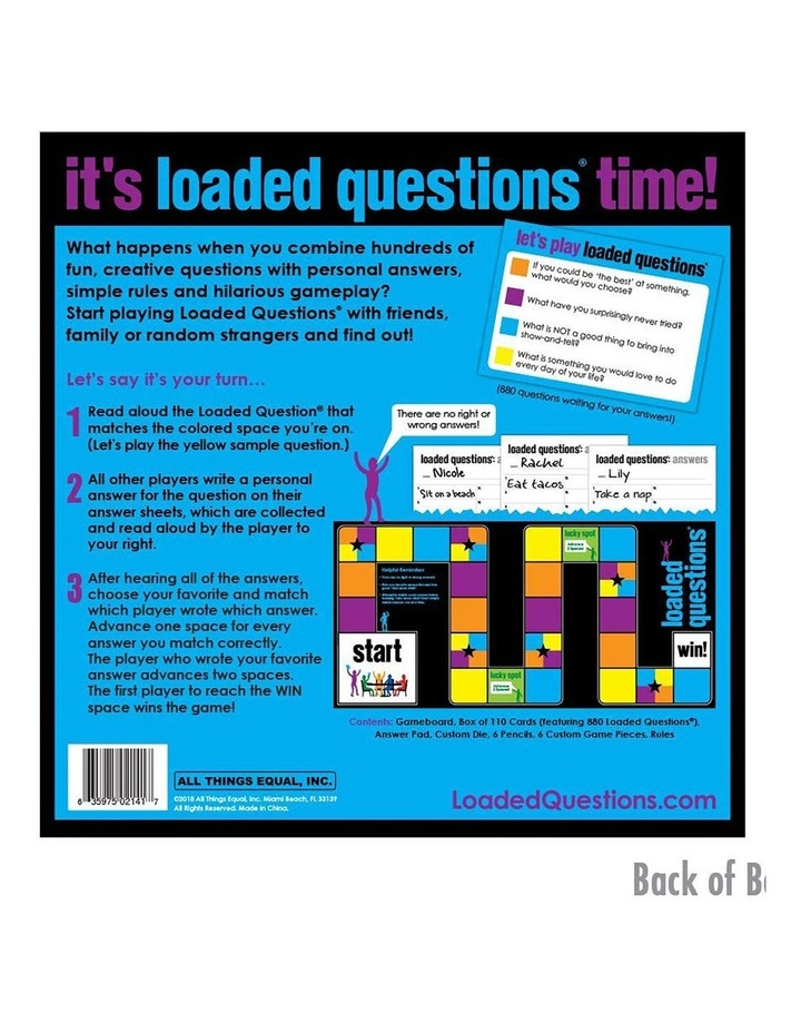 Loaded Questions the Game image 2