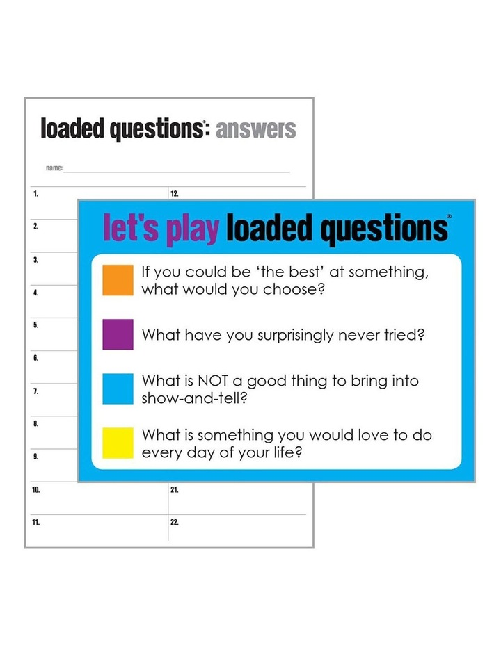 Loaded Questions the Game image 3