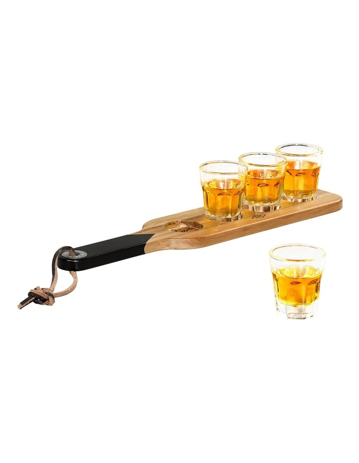 Serving Paddle & Shot Glasses image 6