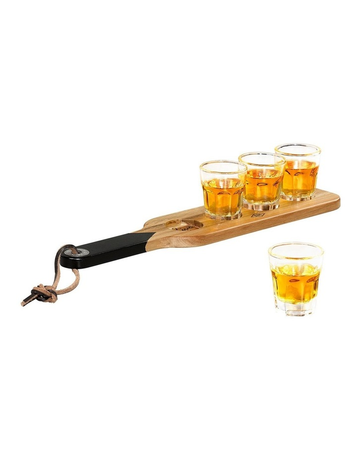 Serving Paddle & Shot Glasses image 5