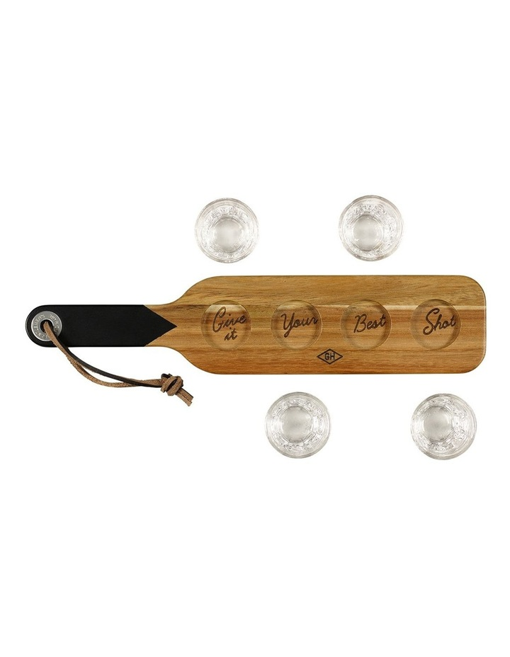 Serving Paddle & Shot Glasses image 11