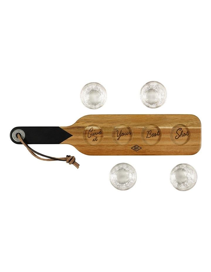 Serving Paddle & Shot Glasses image 12