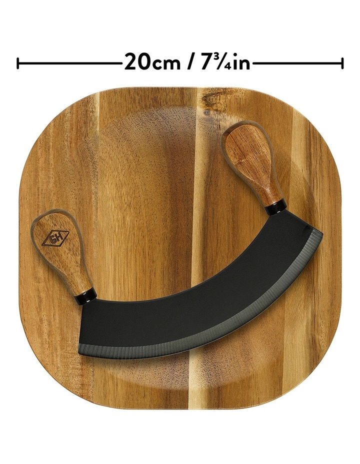 Herb Chopping Board with Knife image 4