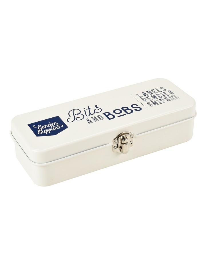 Bits and Bobs Storage Tin - Atlantic Blue image 1