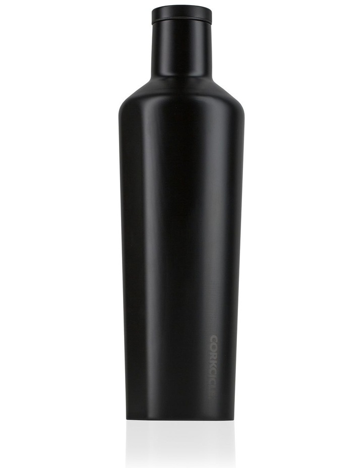 25oz Canteen Dipped Black image 1