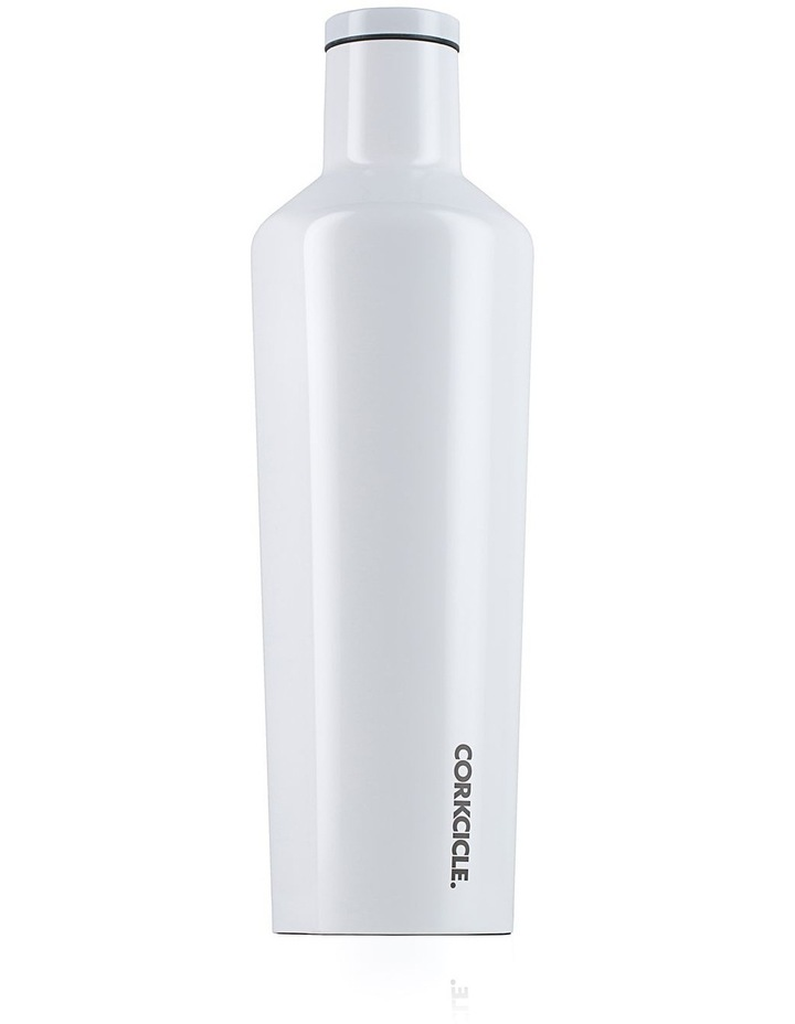 25oz Canteen Dipped White image 1