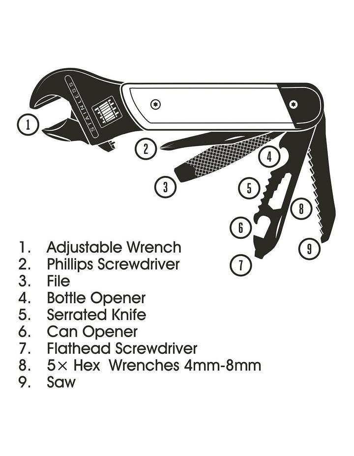 Gentlemen's Hardware Wrench Multi tool image 9
