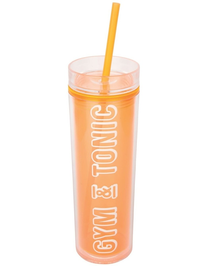 Retro Sipper Neon Orange image 1