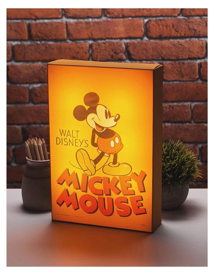 Mickey Mouse Illuminart Canvas Light image 1