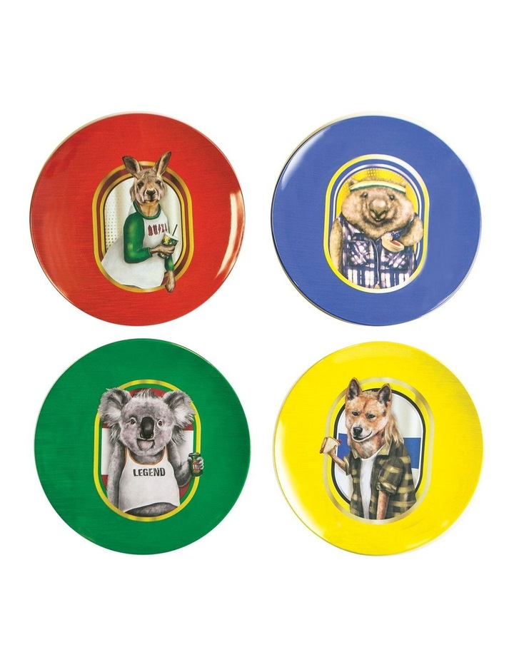 Plate Set Bogan Buddies image 1