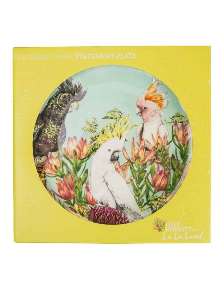 La La Land Cockatoos Of Australia Ceramic Plate image 1