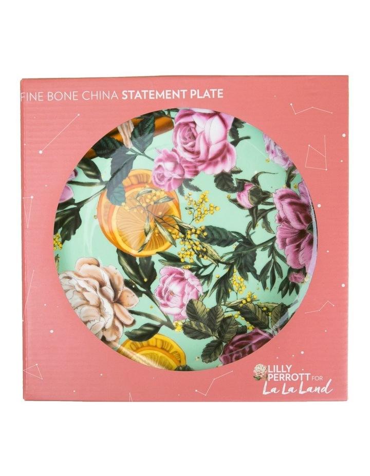 La La Land Citrus Florals Ceramic Plate image 1
