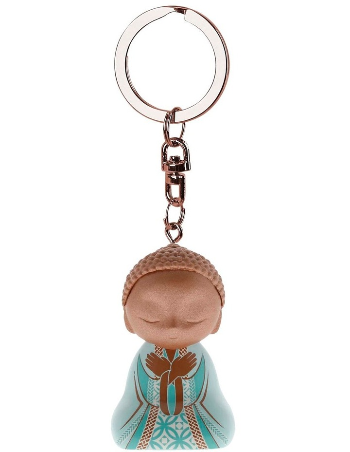 Little Buddha Keychain - BE PATIENT image 1