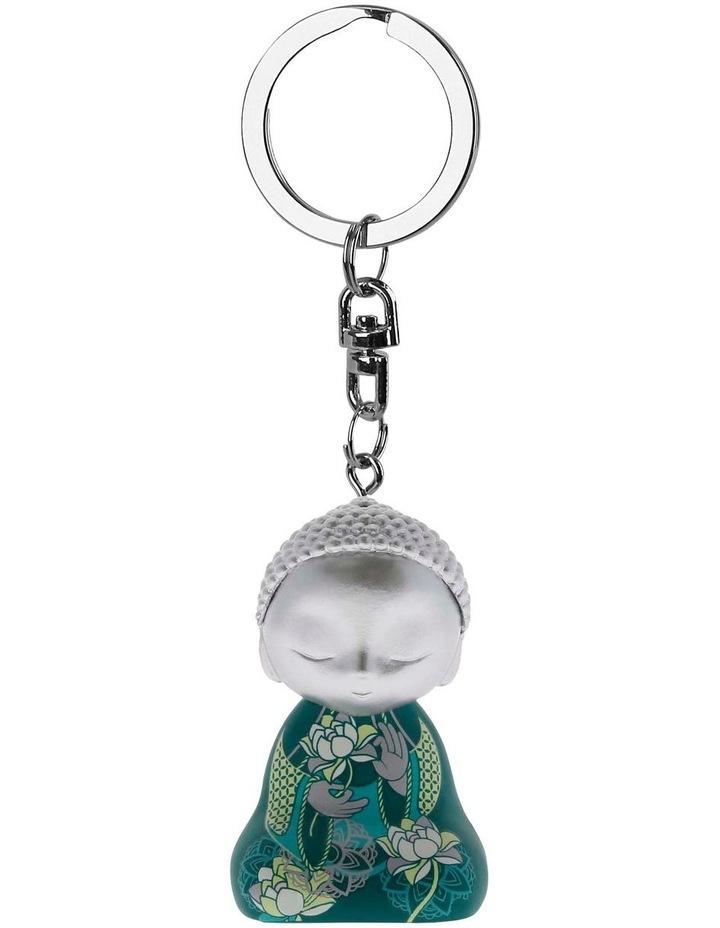 Little Buddha Keychain - PEACE WITHIN image 1