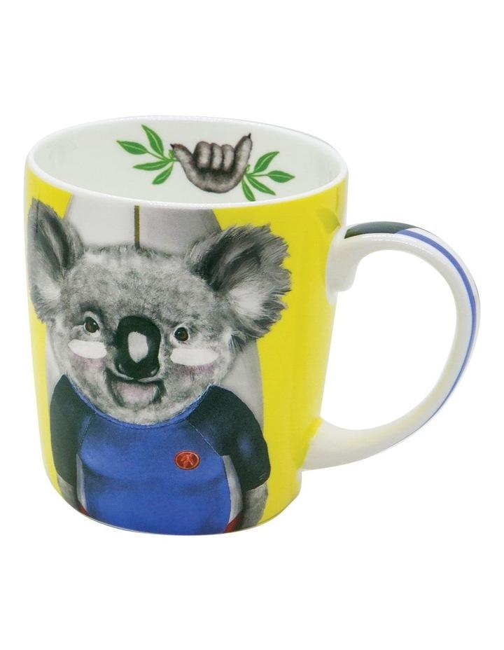Sunshine Surfer Ceramic Mug image 1