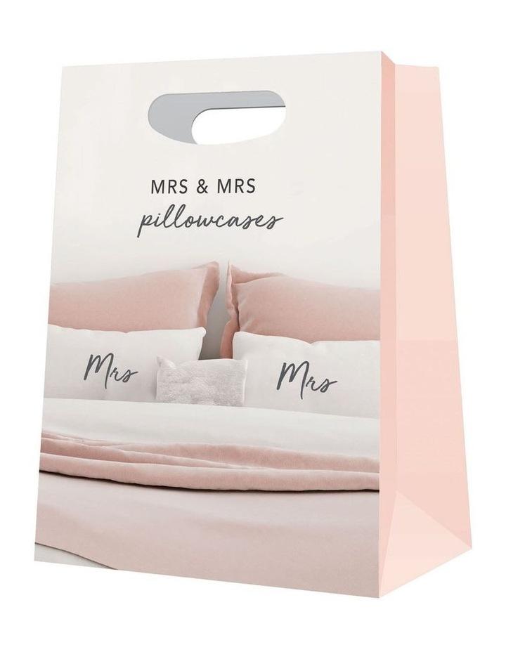 Wedding Mrs & Mrs Pillow Case Set image 2