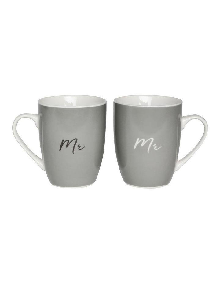 Wedding Mr & Mr Mug Set image 1