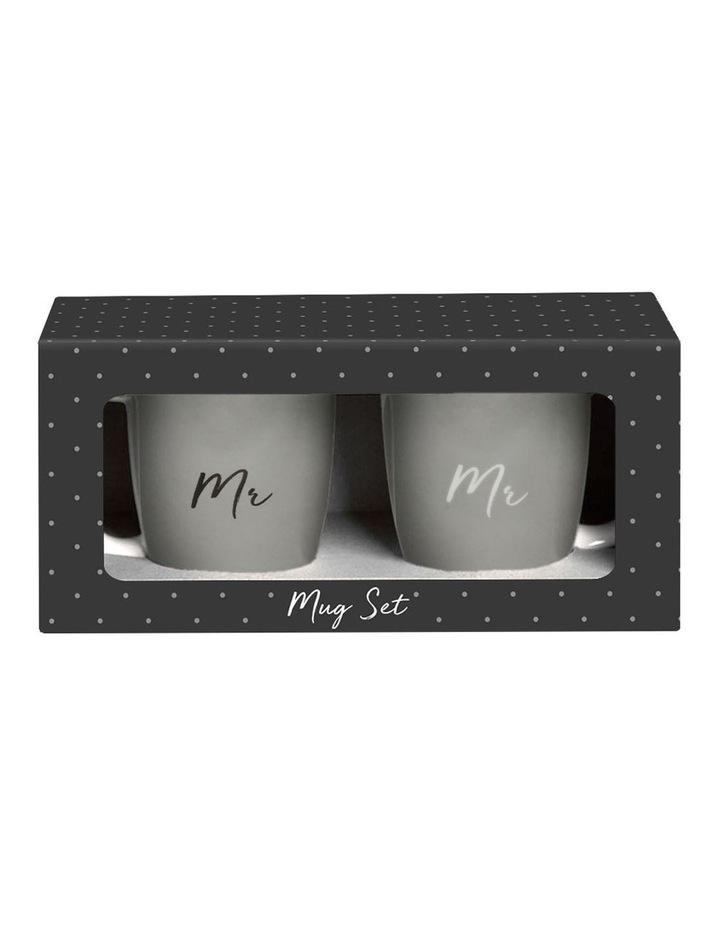 Wedding Mr & Mr Mug Set image 2